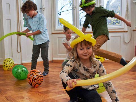 Safari Party Spiele Drinnen Famigros