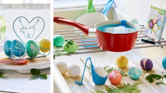 Coloriage d'œufs de Pâques