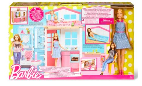 Barbie Casa componibile