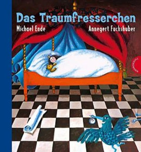 "Buchcover ""Das Traumfresserchen"" on Michael Ende"