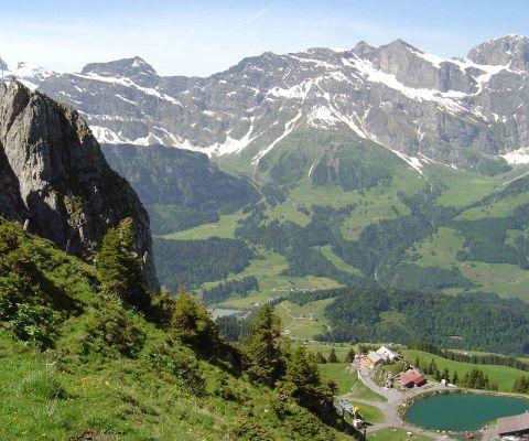 Klettersteig Brunni : Ausflug zur brunnihütte des sac famigros