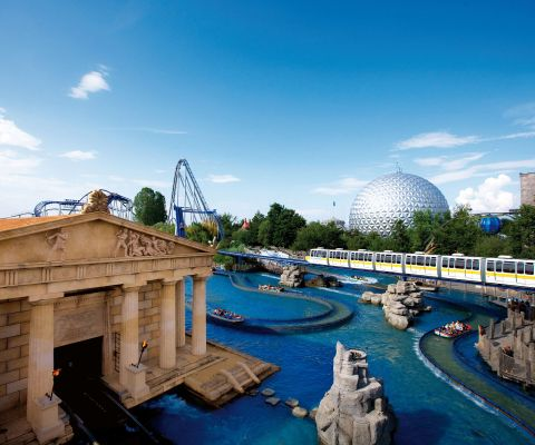 Vista panoramica dell'Europa-Park