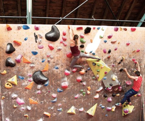Die Boulderhalle Minimum in Zürich