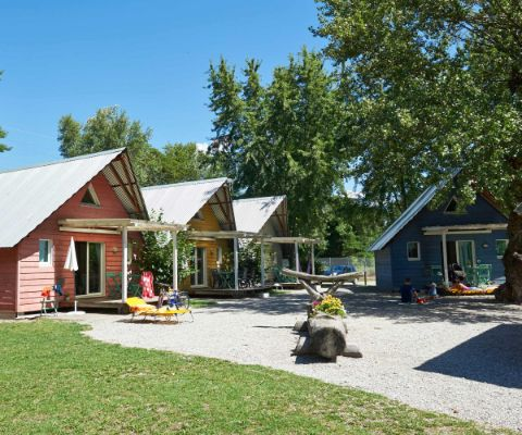 Glamping au camping TCS de Sion