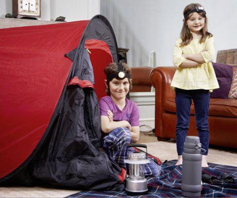 Zelten Im Wohnzimmer Famigros
