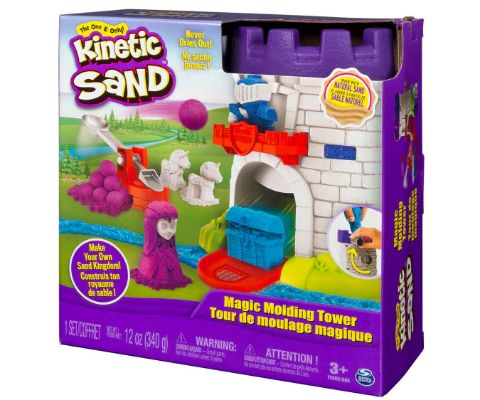Kinetic Sand Moulding Tower
