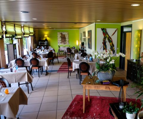 Restaurantinnere des La Table de Mary in Cheseaux-Noréaz