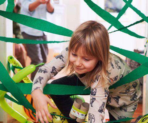 Safari-Party Spiele drinnen | Famigros