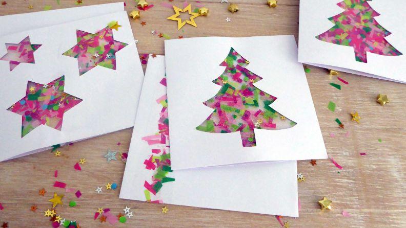 Weihnachtskarten Basteln Mit Kleinkindern.Basteln Mit Kindern Basteltipps Anleitungen Famigros