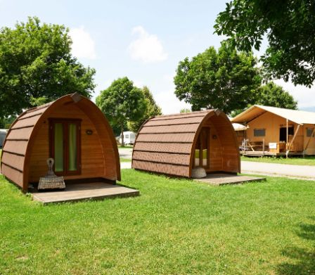 Glamping auf dem TCS Camping Solothurn