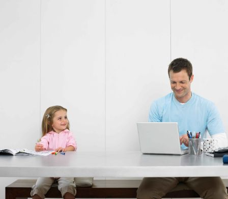 Home-Office mit Kids während der Corona-Situation