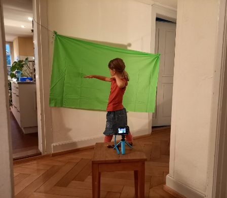Kidizoom Video Studio mit Greenscreen