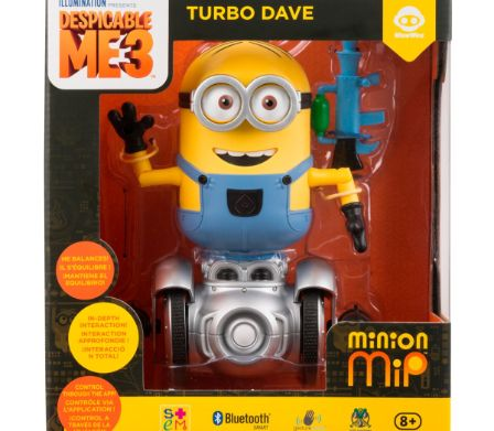 Minion MiP «Turbo Dave» dans son emballage original