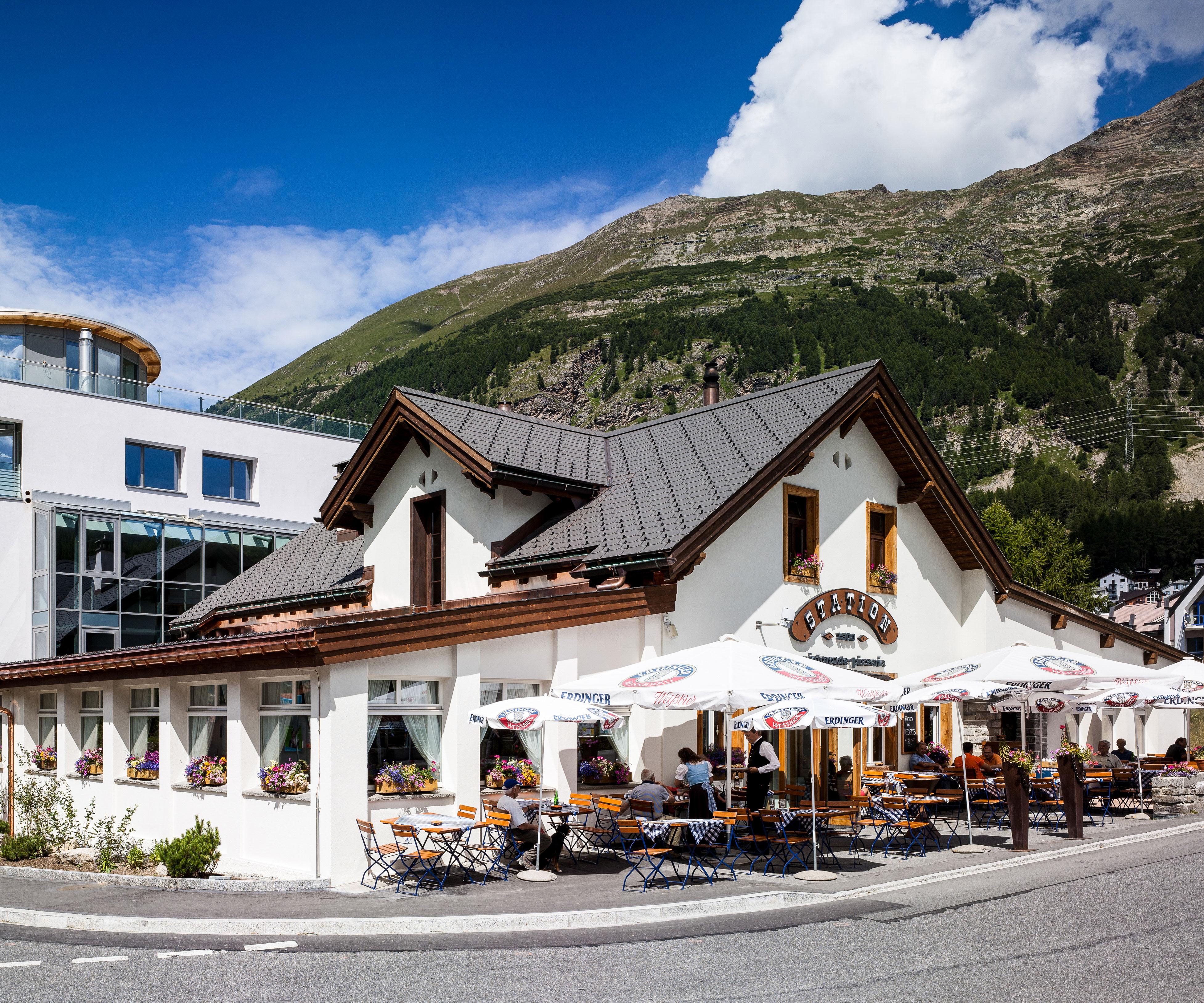 Familien-Restaurant Station in Pontresina   Famigros