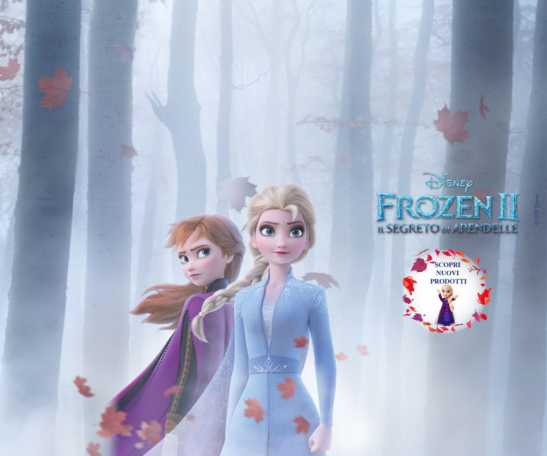 Nuovo Assortimento Di Giocattoli Frozen 2 Famigros
