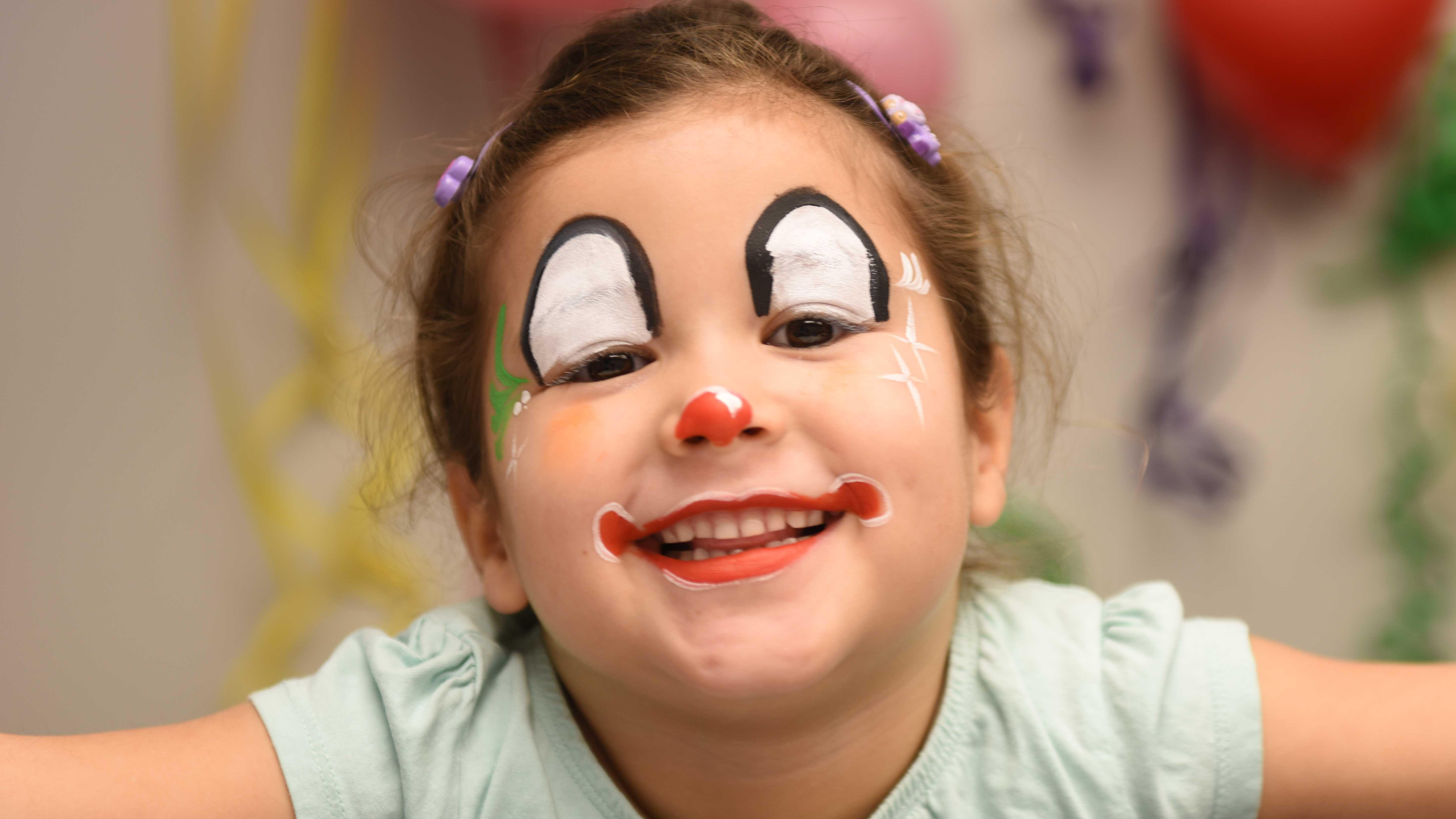 Kinderschminken Fur Fasnacht Mit Videoanleitung Famigros