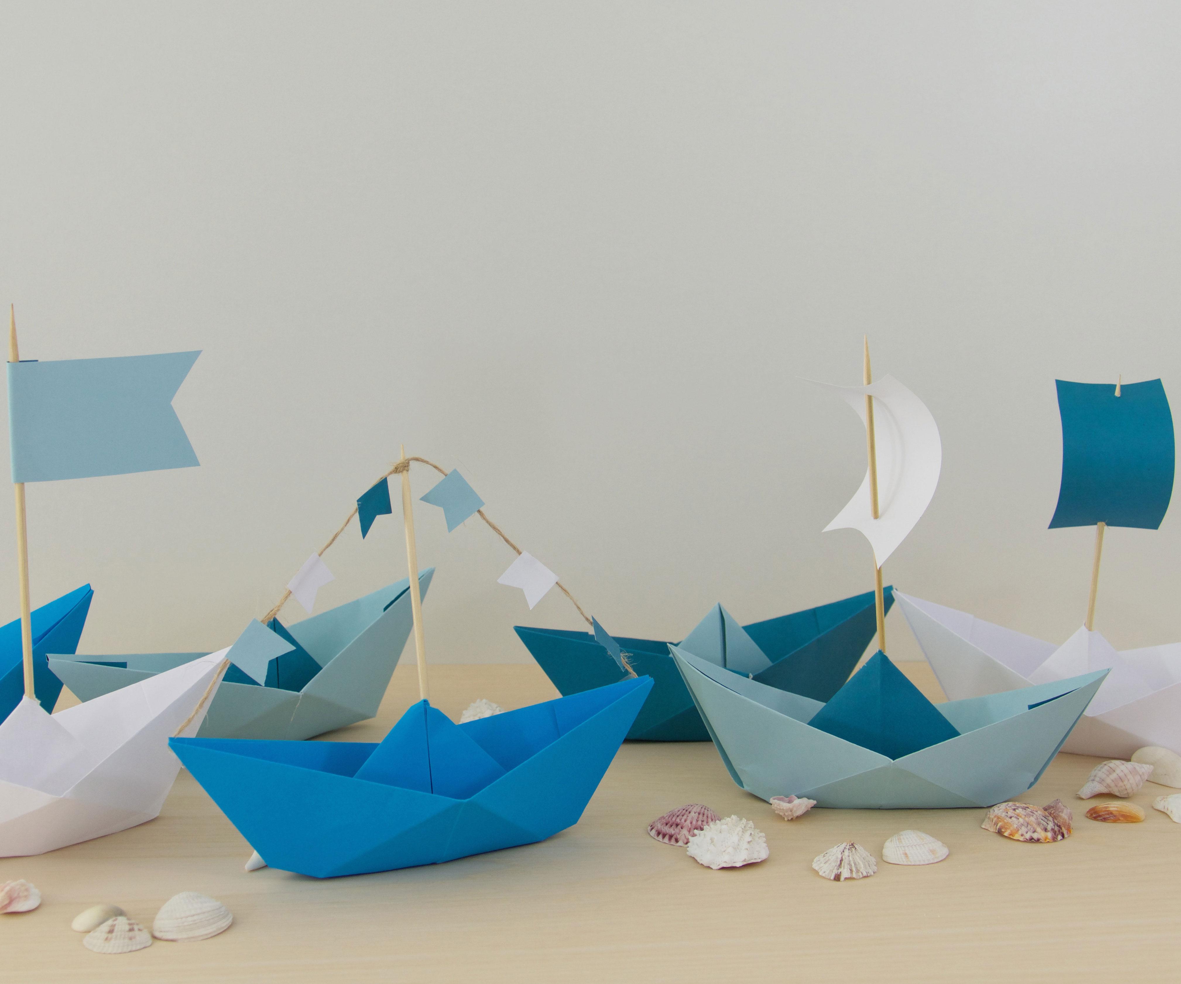 Pliage De Bateaux En Papier Famigros